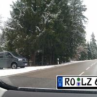 Neuer VW T5 der VPI Weilheim Aktuelles Wechselkennzeichen : RO-LZ 65