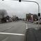 Straßenführung verleitet zum schneller Fahren (die Straße wird kurzzeitig einspurig).