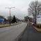 Straßenführung. In ca. 500 Metern wird die Straße kurzzeitig einspurig!