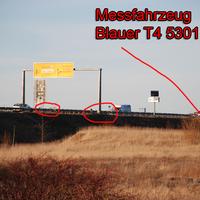 Messfahrzeug Blauer T4, HST 5301