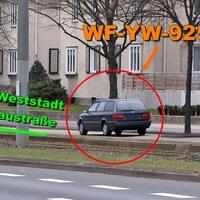 Blitzerwagen Braunschweig Kennzeichen WF-YW-925