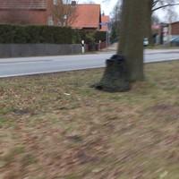 Das typische Radargerät steht am Baum vor der Brücke (Höhe Ulmenallee) Es ist sehr klein und besonders morgens sehr schwer zu erkennen. Der Messwagen (meist ein silberner Golf-Variant mit HWI) steht in der Ulmenallee und ist nicht rechtzeitig zu erkennen!