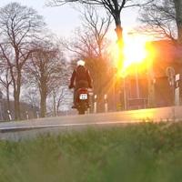 hier hat es ein Moped erwischt, allerdings sollte da nicht passieren! Aufnahmedatum wird NICHT! bekannt gegeben :D