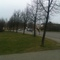 Hier die Ansicht auf das Polizeifahrzeug und der Kontrollstelle.