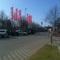 Hier mal ein paar Ansichten auf dem Parkplatz des Strelarparks, sie hatten gerade Mittag gemacht und ich nen paar Fotos erhascht.