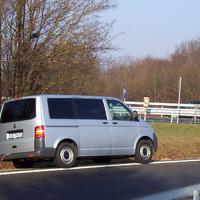 Der neue Messbus steht an der üblichen Stelle. Ausnahmsweise mal Aschaffenburger Kennzeichen AB-TH 27.