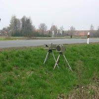 Fotoeinrichtung für Fahrzeuge aus Jena kommend in Fahrtrichtung Weimar