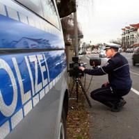 Polizei Blitzer