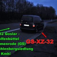 VW Caddy Dunkelgrau (GS-XZ-32), auch ein echt netter Messbeamte am Steuer LG auch an ihn.
