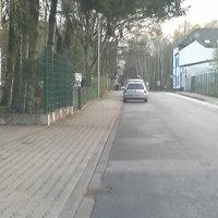 Der Meßwagen der Städteregion Aachen parkte sehr unauffällig.
