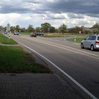 Anfahrt aus Kuppenheim