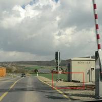 Ahnatal Bahnübergang
