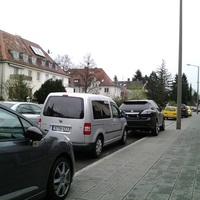 Blitzer in Richtung Regensburgerstr.