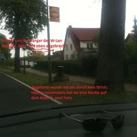 Schön zuerkennen und alles gut erläutert. Das Messpersonal saß in einem VW Passart dunkel blau mit dem KFZ DD : EC : .......... hat man auch kaum gesehen.
