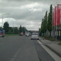Das Meßfahrzeug der Stadt Neuss