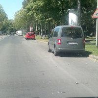 Das Meßfahrzeug blitzte in Richtung Krefelder Innenstadt
