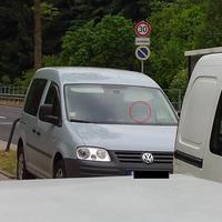 Mal wieder war der Caddy und die Leivtec im Einsatz. Gelasert wurde auf der Bornaer Straße Richtung Wittgensdorfer Straße Höhe Auerswalder Straße