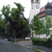 Hinterm Baum, am Seniorenheim