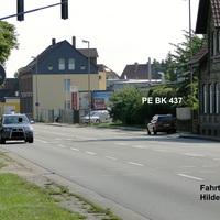 der bekannte PE BK 437 Opel auf der Celler Straße stadtauswärts Rtg. Edemissen. Beide Spuren wurden gemessen, leider fuhr der Wagen direkt bei meiner Ankunft ab (welch´ein Zufall :D )