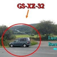 Der dunkelgrauer VW Caddy des Landkreis Goslar, vorsicht öfter gewechselte Kennzeichen aktuelles (stand Juli 2012) (GS-XZ-32).