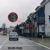 Ampelblitzer nach ARAL-Tankstelle: Blitzt aus Sigmaringen Richtung Balingen fahrende Verkehrssünder.