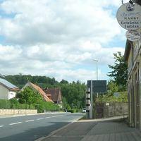 Sicht aus Fahrtrichtung von Zuzenhausen Richtung Hoffenheim (Ortsausgang)