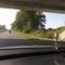Blitzanlage wie bekannt aus dem fahrenden Auto aufgenommen