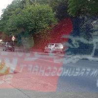 Kurz hinter den Kabelwerken parkte der Meßwagen und blitzte Richtung Stolberg City
