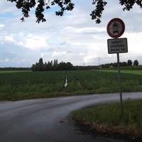 Aufnahme von der K9(richtung Elmpt).Im hintergrund der blaue Mercedes Meßwagen.