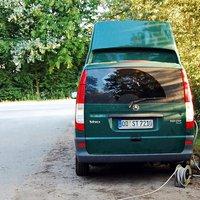 neuer Meßwagen mit der eso 3.0 der Polizei Oldesloe