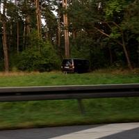 Versteckter Messbus VW dunkelbraun-metallic