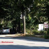 Stadtauswärts fahrend in Rtg. Marlistrasse / Drägerpark...