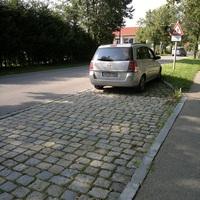 Dieses Mal ein Opel Zafira. Kennzeichen AÖ-SV 524.