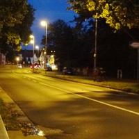 Die mobile Version der Poliscan Speed auf dem Nordring (L 523) in Frankenthal. Fahrtrichtung von Bobenheim-Roxheim nach Oggersheim, also Nord nach Süd. 50 erlaubt. 1 Meter vor dem Lichtmast. Messwagen parkte wenige Meter entfernt in einer Seitenstrasse. Viel Durchsatz, aber wenig Erfolgserlebnisse für die Sondermaut-Empfänger.