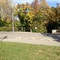 ESO im 30er Bereich, Schorndorf-typisch hinterhältig in der Hecke und zusätzlich durch Tarnnetze getarnt und daher in der Anfahrt kaum zu sehen