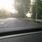 Anfahrt und Beginn der 70 km/h Zone direkt nach der geschlossenen Ortschaft