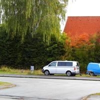 """Tatort in der Posenerstrasse stadtauswärts. Hier ist das gesamte """"Blitzgeschirr"""" zu erkennen..."""