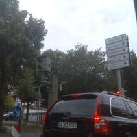 Der Blitzer steht in Ludwigsburg nach einer Ampel wird geblitzt wird .... aber Vorsicht in dieser Straße stehen mehrere.