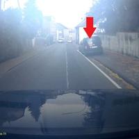 Diesmal der blaue VW Caddy ....