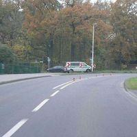 Von Oedt komment steht links(Grünkesweg) das Anhalte Kommando