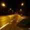 Kontrolle Richtung Justus-Liebig-Straße, Nachtmessung bis ca. 23 Uhr am Montag, 5.11.12.   Zahlreiche weitere Fotos aus Bayreuth auf meiner neuen Homepage  www.messstellen.info !