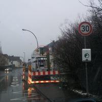 Neuer Starenkasten in der 30er Zone in Höhe der Bushaltestelle