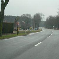 Hier links(Oebeler Heide) oder rechts(Roermonderstr.) steht gerne die Polizei mit der Läserpistole
