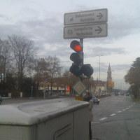 """Dieser """"Blitzer"""" steht in Ludwigsburg - Landkreis Ludwigsburg hinter einer Ampel in der Stuttgarter Straße (2)"""