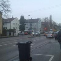 """Dieser """"Blitzer"""" steht in Ludwigsburg - Landkreis Ludwigsburg vor einer Ampel in der Friedrich Straße (3)"""