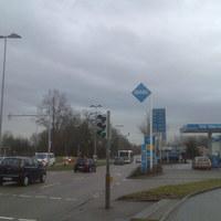 """Dieser """"Blitzer"""" steht in Ludwigsburg - Landkreis Ludwigsburg hinter einer Ampel in der Friedrich Straße (4) nach einer Ampel - hinter der ARAL-Tankstelle"""