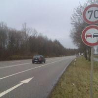 """Dieser """"Blitzer"""" steht in Ludwigsburg - Landkreis Ludwigsburg in der Friedrich Straße (5) in Richtung Oßweil."""
