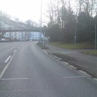 """Dieser """"Blitzer"""" steht in der Marbacher Straße in Ludwigsburg zwischen Hoheneck und Neckarweihingen - Landkreis Ludwigsburg... 50 km/h sind hier erlaubt ! nach einer Bushaltestelle steht er!"""