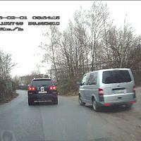 Videoaufnahmen vom Beifahrersitz.
