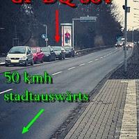 Wolfenbüttelerstraße stadtauswärt.